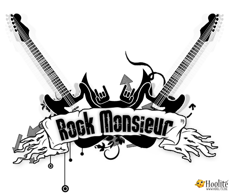 """Rock Monsieur - Logo design HoOlite.be"