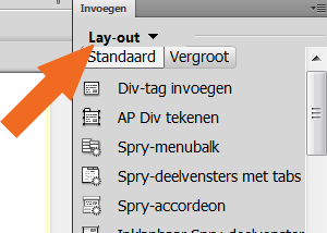 insert selection -div tag in Dreamweaver