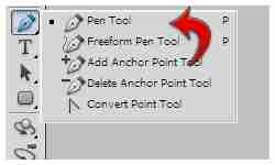 Pen tool basics: select pen tool