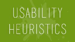 10 usability heuristics every web designer should keep in mind