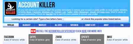 Account Killer